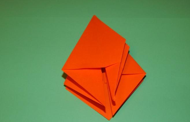 Цветы из бумаги — схемы и шаблоны для создания бумажных цветов этап 96