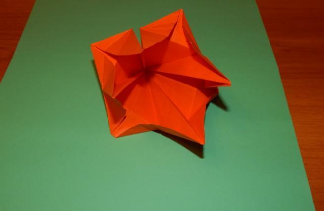 Цветы из бумаги — схемы и шаблоны для создания бумажных цветов этап 101