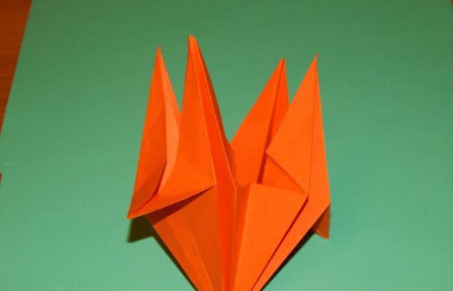 Цветы из бумаги — схемы и шаблоны для создания бумажных цветов этап 104