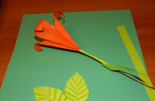 Цветы из бумаги — схемы и шаблоны для создания бумажных цветов этап 124