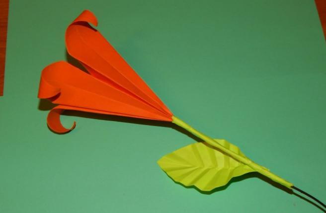 Цветы из бумаги — схемы и шаблоны для создания бумажных цветов этап 125