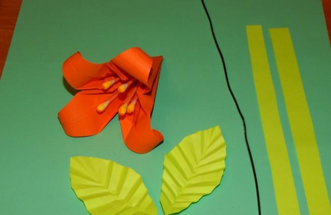 Цветы из бумаги — схемы и шаблоны для создания бумажных цветов этап 123