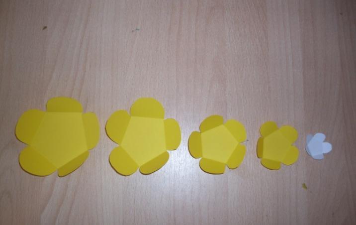 Цветы из бумаги — схемы и шаблоны для создания бумажных цветов этап 146