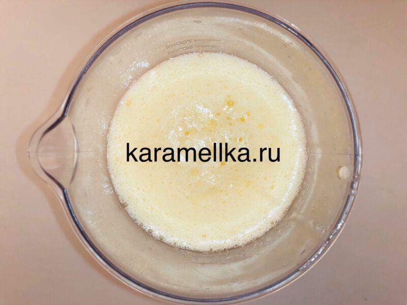 Кексы с бананом в силиконовых формочках (простой рецепт) этап 8