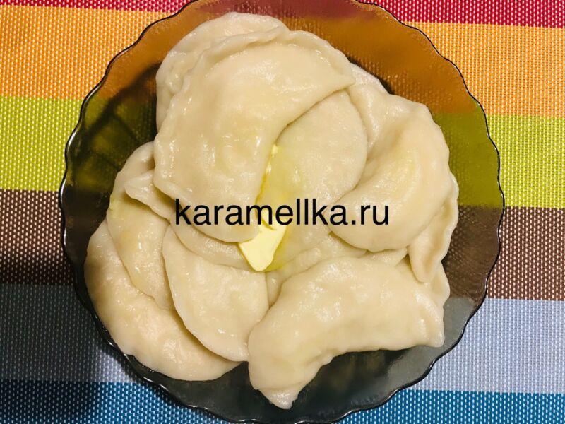 Вареники с картошкой — пошаговый рецепт этап 20