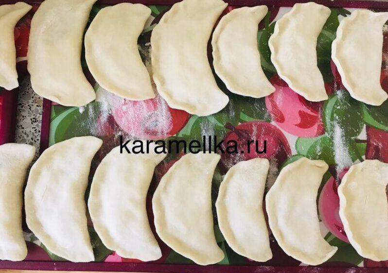Вареники с картошкой — пошаговый рецепт этап 17