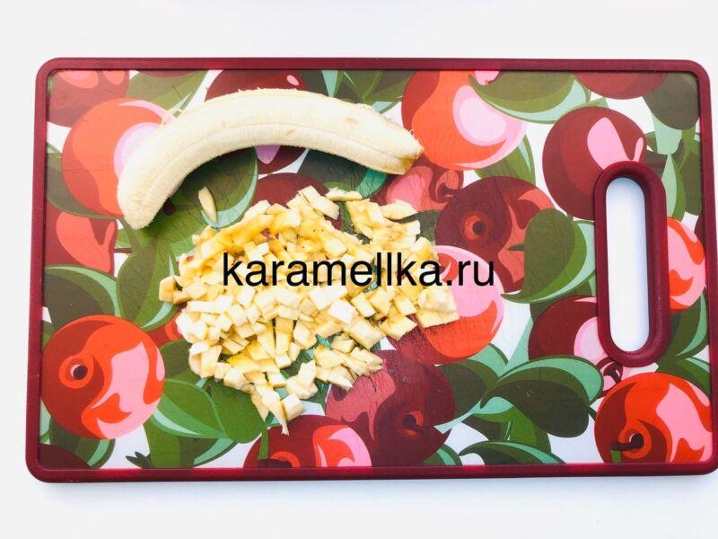 Кексы с бананом в силиконовых формочках (простой рецепт) этап 13