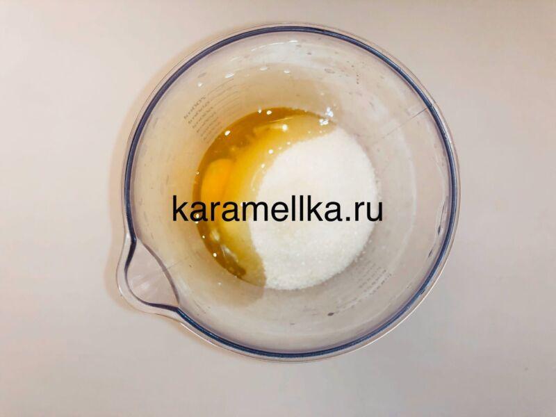 Кексы с бананом в силиконовых формочках (простой рецепт) этап 6