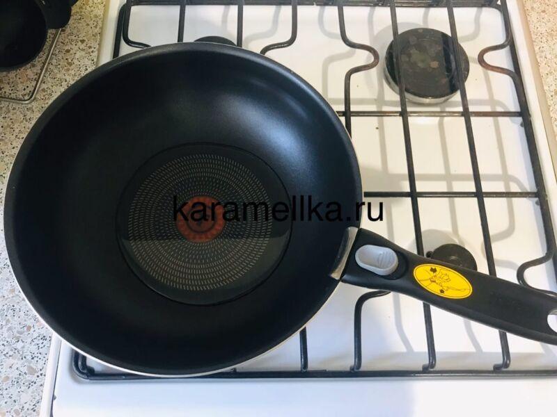 Жареная картошка на сковороде с чесноком (рецепт картофеля с хрустящей корочкой) этап 5