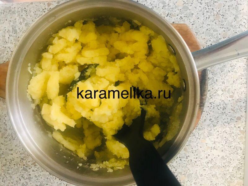 Вареники с картошкой — пошаговый рецепт этап 10
