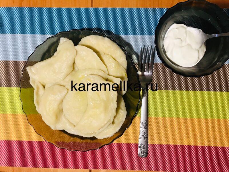 Вареники с картошкой — пошаговый рецепт