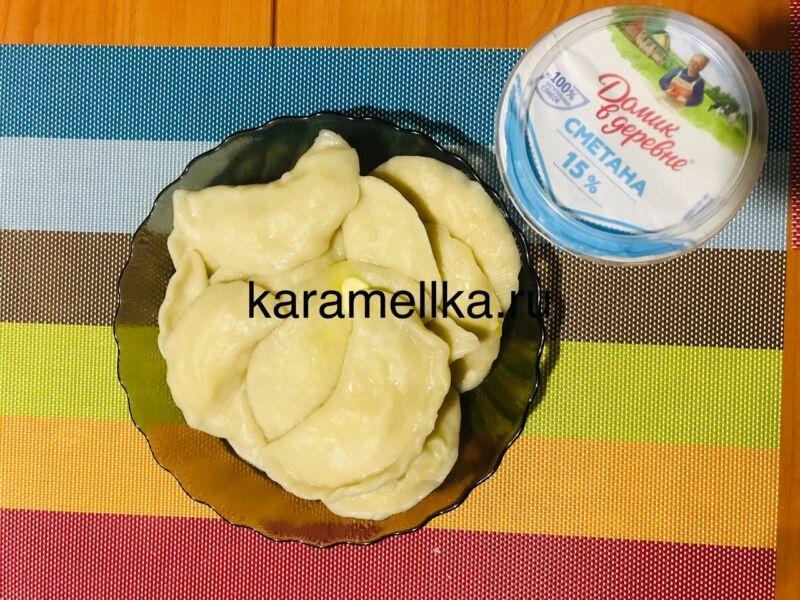 Вареники с картошкой — пошаговый рецепт этап 21