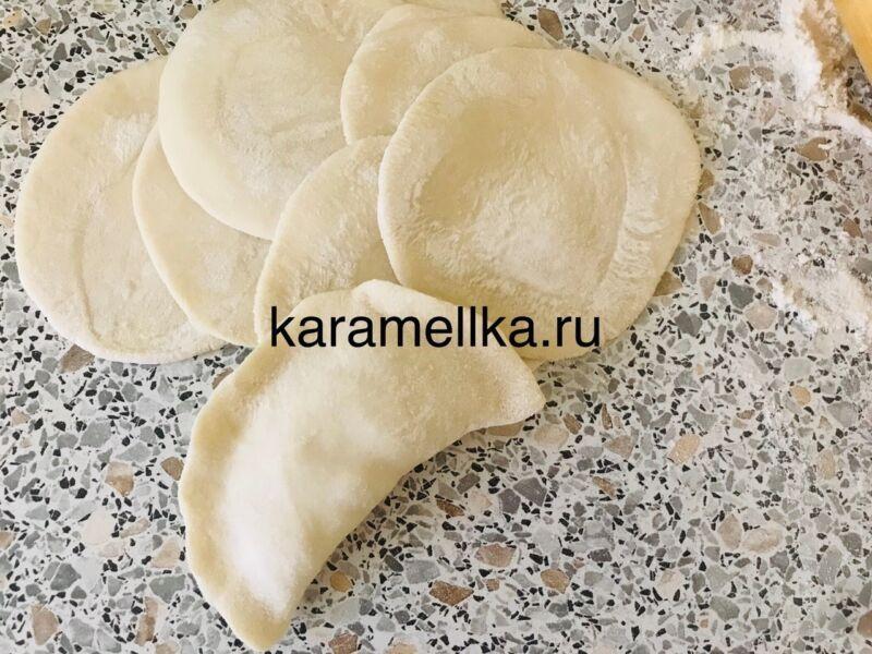 Вареники с картошкой — пошаговый рецепт этап 16