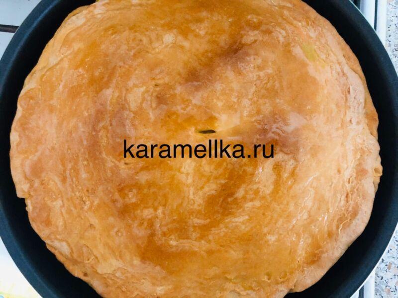 Картофельный пирог в духовке этап 20