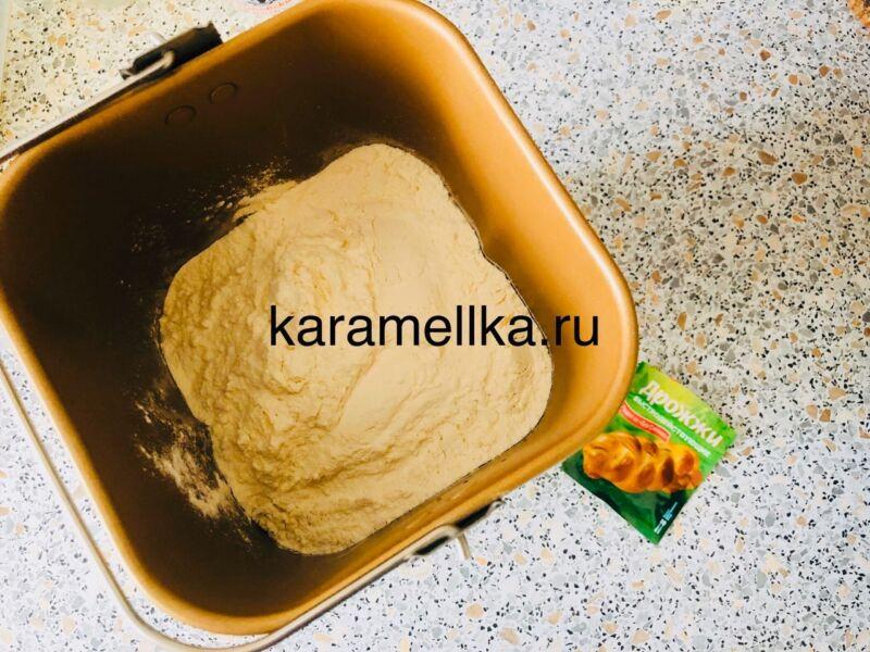 Картофельный пирог в духовке этап 4