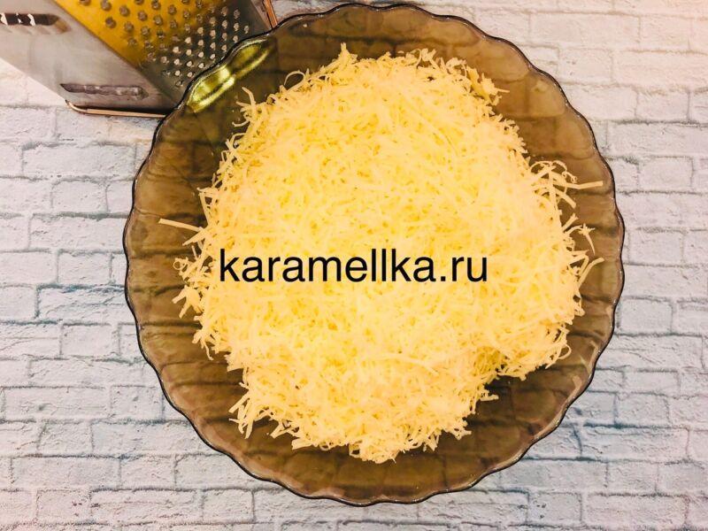 Чуду с сыром на сковороде этап 7