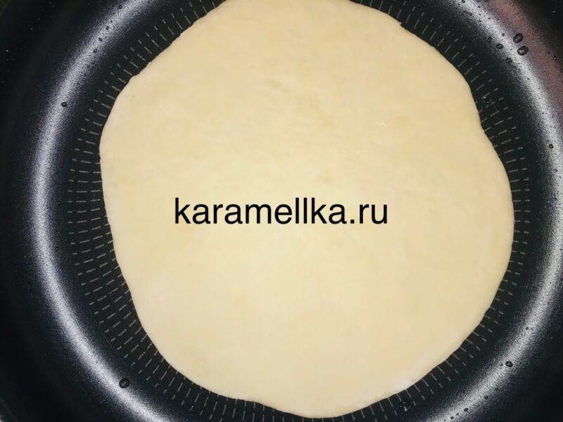 Чуду с сыром на сковороде этап 13