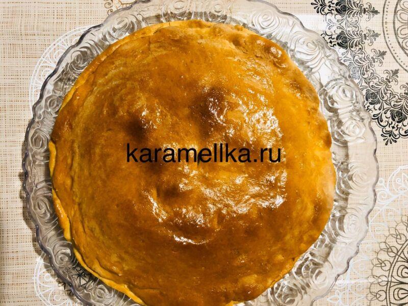 Картофельный пирог в духовке этап 21