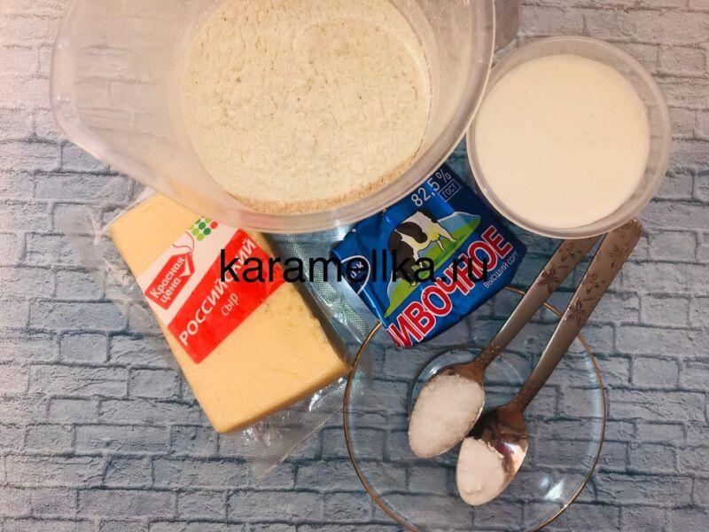 Чуду с сыром на сковороде этап 2