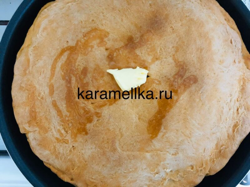 Картофельный пирог в духовке этап 19