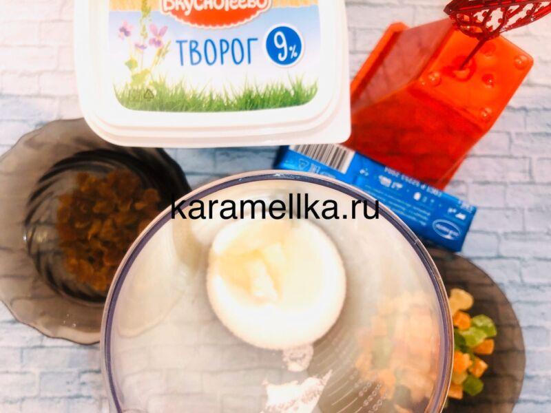 Творожная пасха без яиц — пошаговый рецепт этап 4