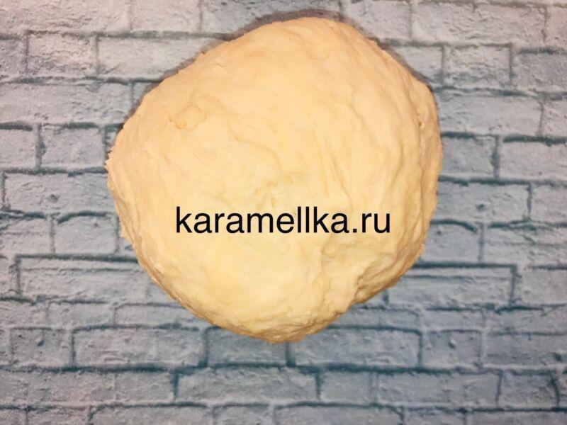 Чуду с сыром на сковороде этап 6