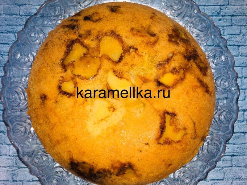 Пышная шарлотка с яблоками в духовке (классический рецепт) этап 13