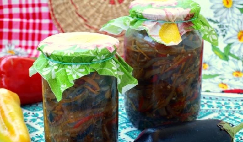 Баклажаны по-корейски на зиму по самым вкусным рецептам этап 18