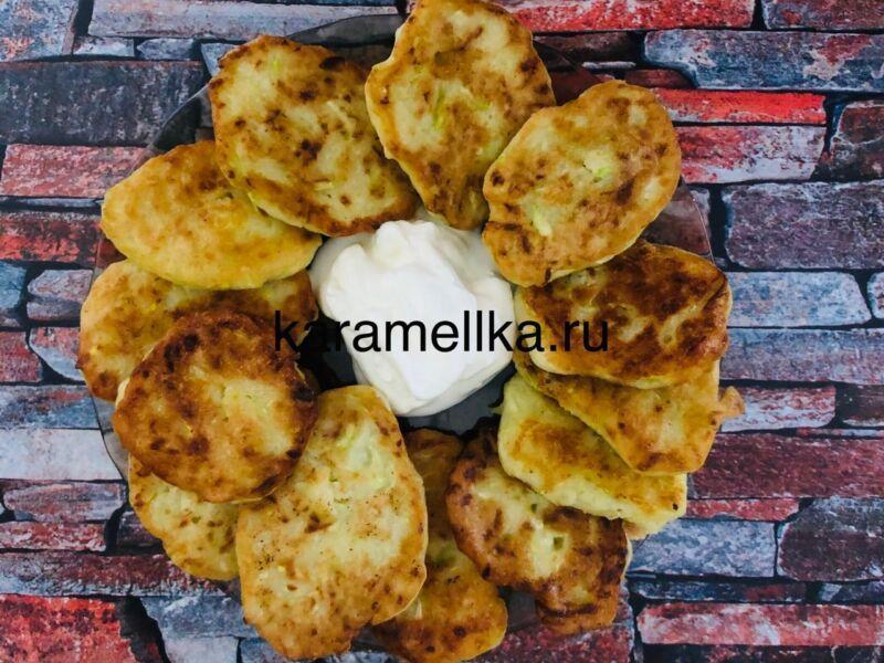 Самый вкусный рецепт оладьев из кабачков на сковороде