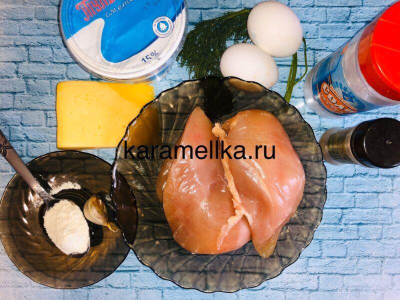 Рубленные котлеты из куриной грудки (сочные, мягкие и потрясающе вкусные) этап 2