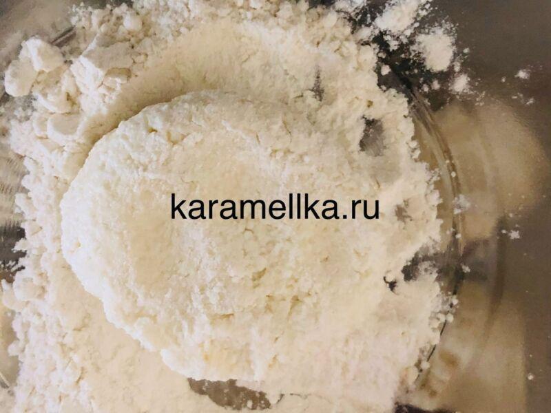 Пышные сырники из творога по классическому рецепту на сковороде этап 10