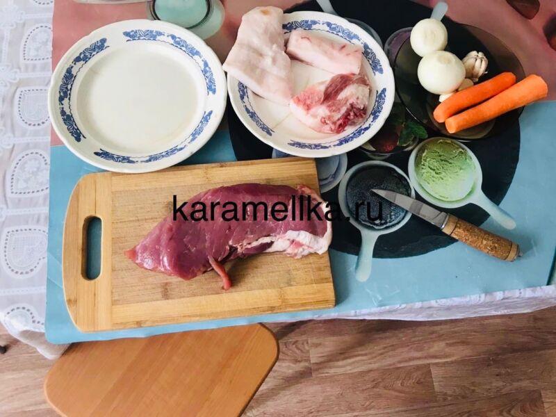Как приготовить плов из свинины, чтобы рис был рассыпчатым этап 2