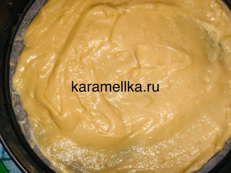 Пирог с яблоками в духовке — быстрый и вкусный рецепт этап 11