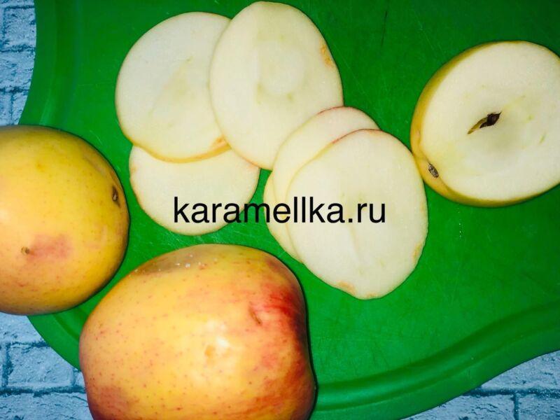 Пирог с яблоками в духовке — быстрый и вкусный рецепт этап 10