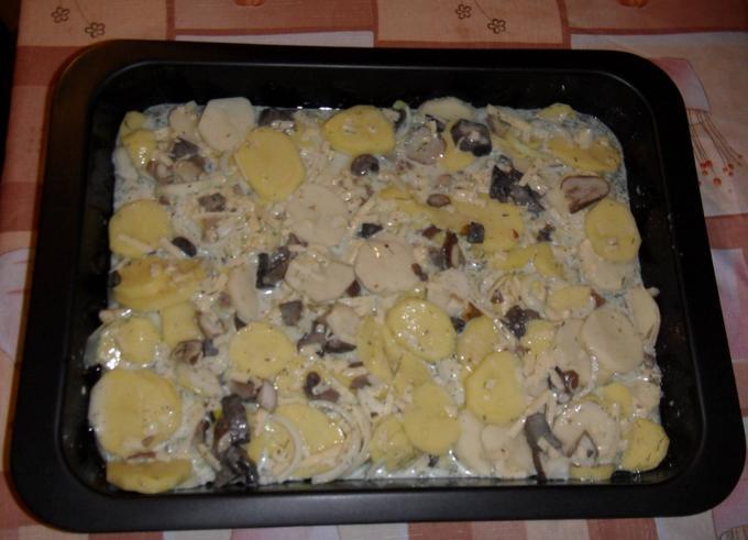 Картофель с мясом в духовке — простые и вкусные рецепты этап 17