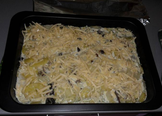 Картофель с мясом в духовке — простые и вкусные рецепты этап 19