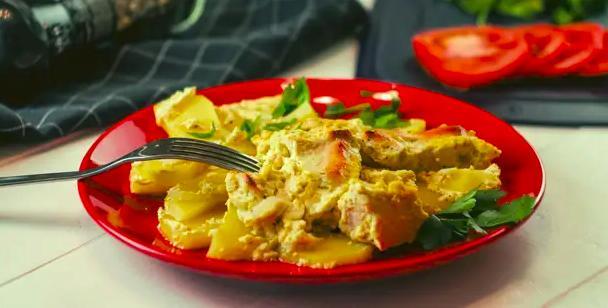 Картофель с мясом в духовке — простые и вкусные рецепты этап 33