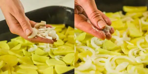 Картофель с мясом в духовке — простые и вкусные рецепты этап 29