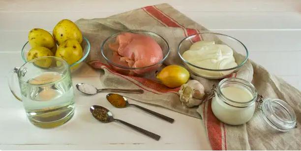 Картофель с мясом в духовке — простые и вкусные рецепты этап 22