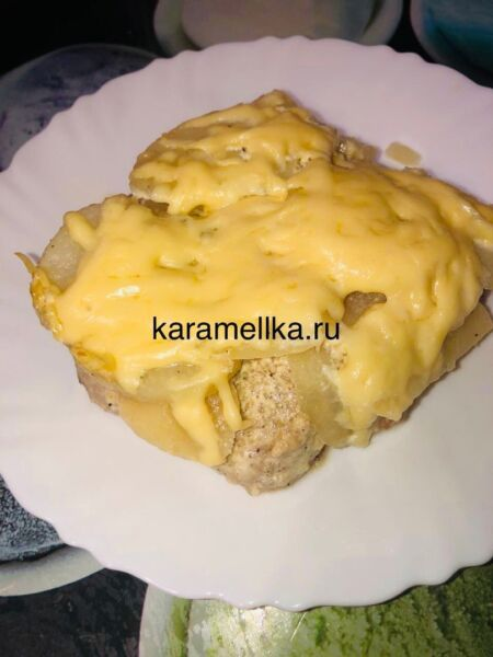 Картофель с мясом в духовке — простые и вкусные рецепты этап 14