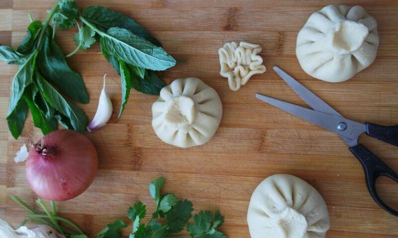 Хинкали: 5 рецептов приготовления в домашних условиях этап 34