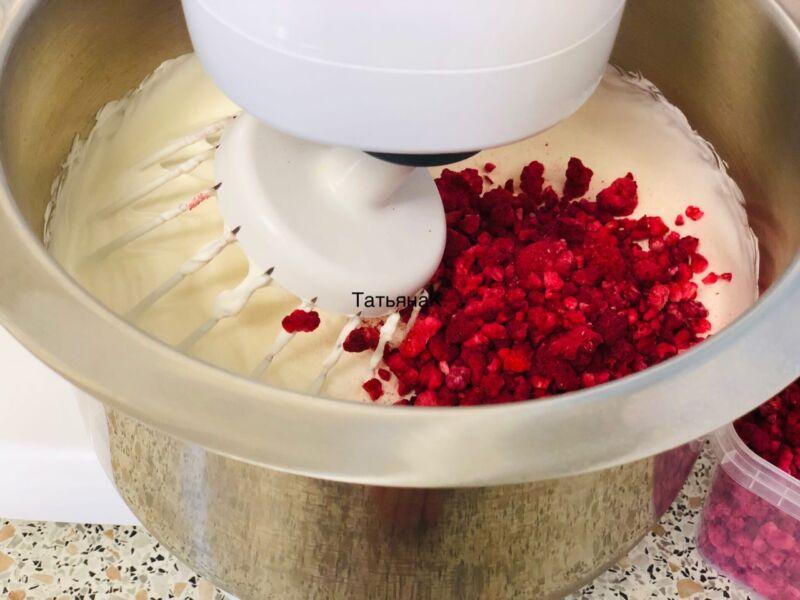 Домашнее мороженое из сливок по простому рецепту этап 6