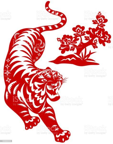 Трафареты тигра на окна для вырезания из бумаги на Новый год 2022 этап 29