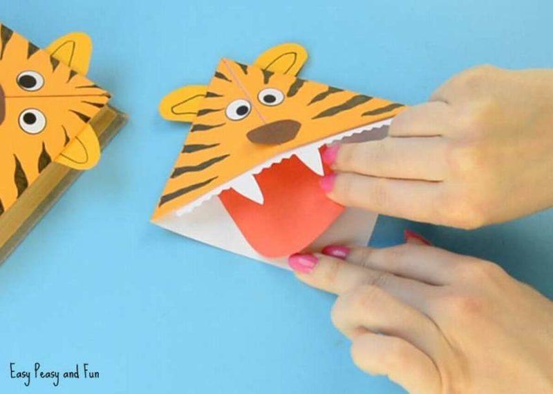 Поделки тигра на Новый год 2022 своими руками из подручных материалов этап 14