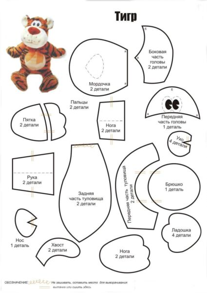 Поделки тигра на Новый год 2022 своими руками из подручных материалов этап 10